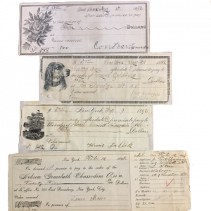 historial loan notes given between 1892-1903